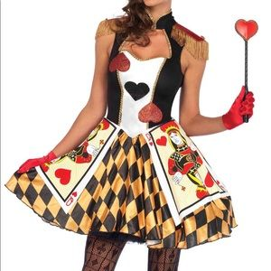 Leg Avenue Sexy Queen's Card Guard Costume
